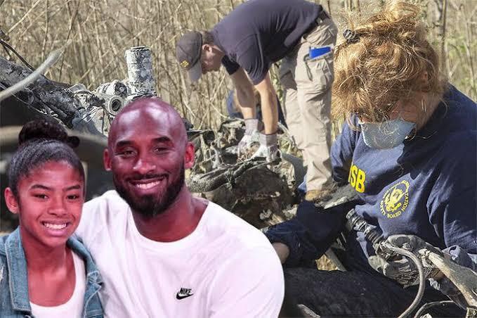 Kobe Bryant'ın öldüğü kazanın enkaz görüntüleri yayınlandı
