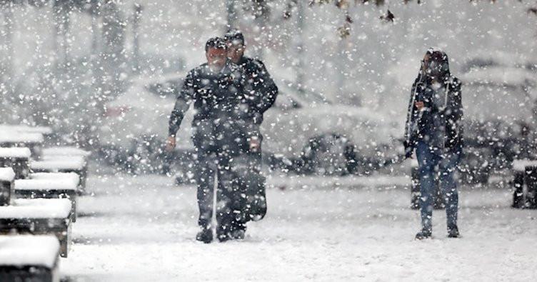 Meteoroloji saat verip uyardı! Kar fena geliyor