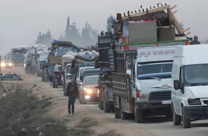 Türkiye'ye doğru 700 bin göçmen geliyor !