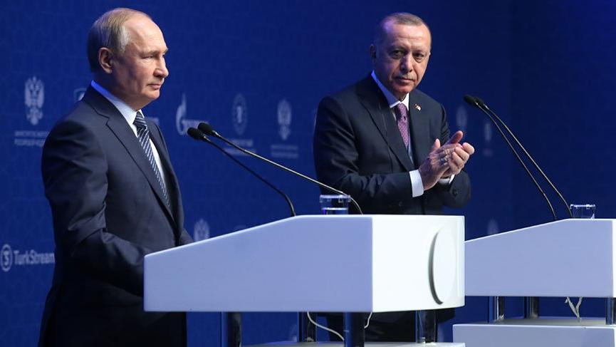 Erdoğan ve Putin Libya için tarih ve saat verdiler