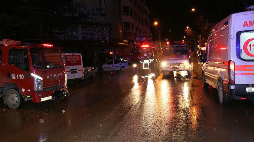 Alışveriş merkezinde yangın çıktı: 2 ölü, 4 yaralı