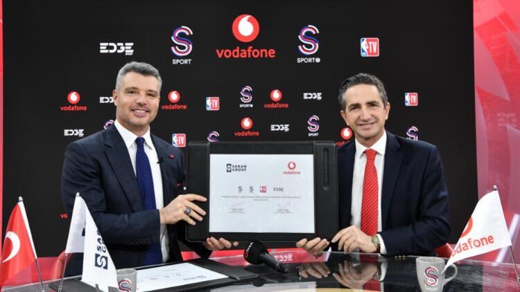 Vodafone ve Saran Group sporda güçlerini birleştirdi