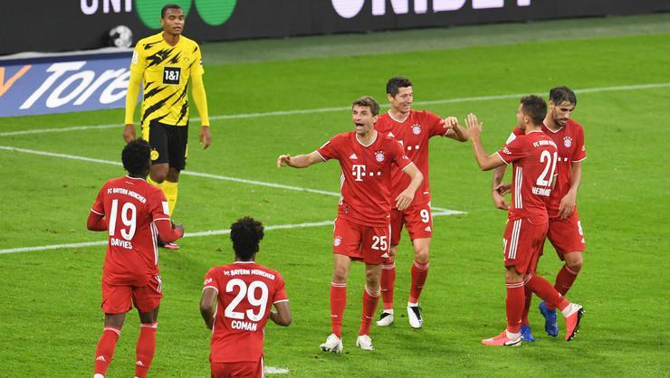Almanya'da Süper Kupa'nın sahibi Bayern Münih oldu