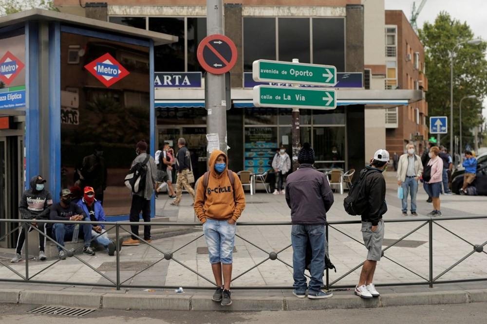 Madrid'de vakalar artınca, yeniden karantina uygulaması