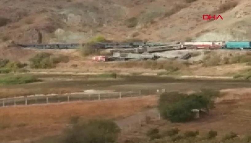Ankara'da yük trenleri çarpıştı: 2 ölü var!