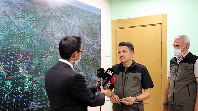 Bakan Pakdemirli'den ''sabotaj'' iddialarına yanıt