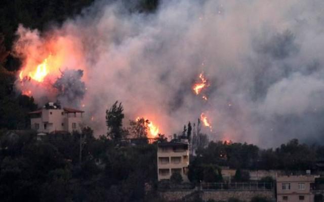 Hatay'da yangın çıkan bölgeyle ilgili olay olacak ayrıntı