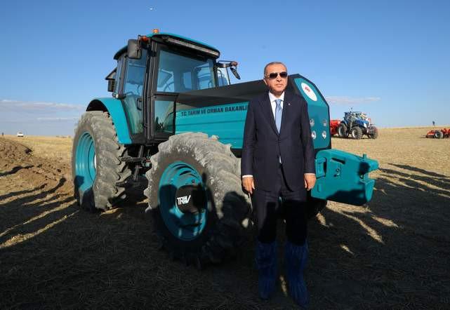Yerli elektrikli traktör seri üretime hazır
