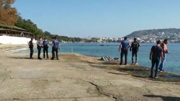 Denize düşen mühendis hayatını kaybetti