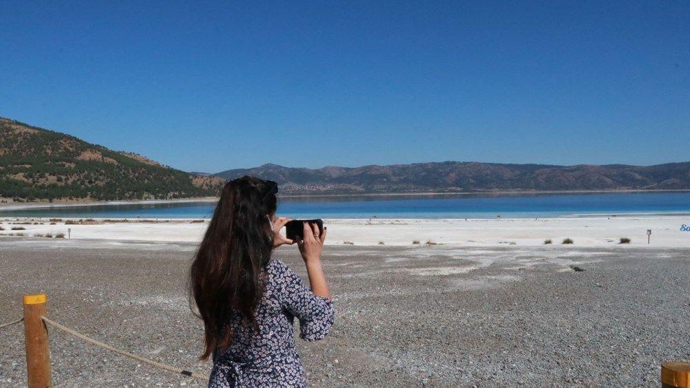Salda Gölü'nün Beyaz Adalar kısmı ziyarete kapatıldı - Resim: 1
