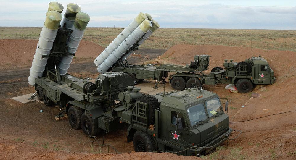 Türkiye S-400'leri test etti! İşte ilk görüntüler