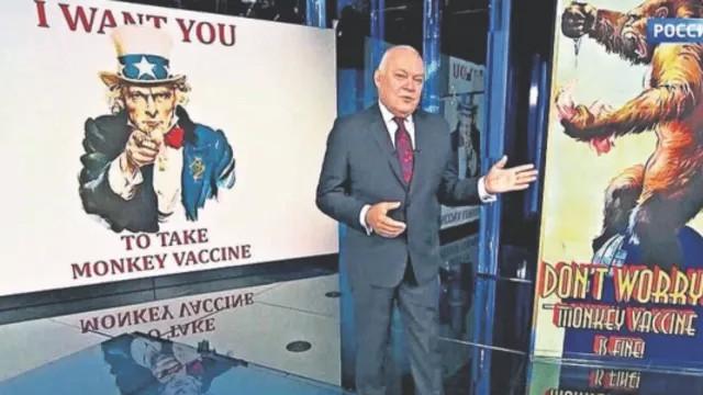 ''Oxford'un koronavirüs aşısı insanları maymuna çeviriyor''