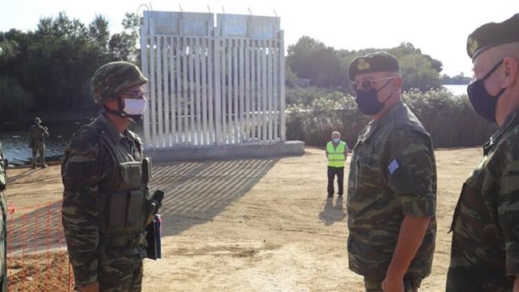 Yunanistan sınırına 27 kilometrelik çit örülüyor