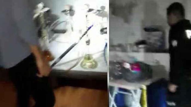 Kağıthane'de kaçak tütün operasyonu