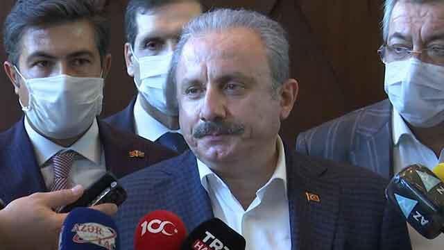 TBMM Başkanı Şentop resmi temaslar için Azerbaycan'da