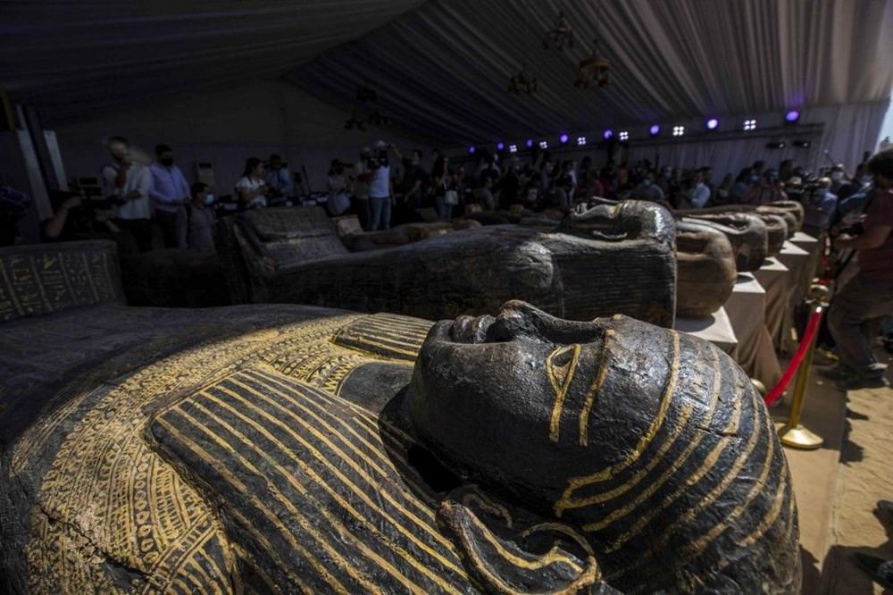 Binlerce yıllık, açılmamış lahitler bulundu! - Resim: 2