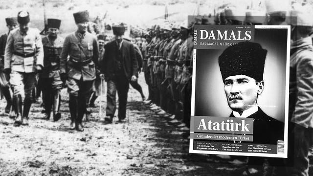 Avrupa'nın ünlü dergisinin kapağında Atatürk var