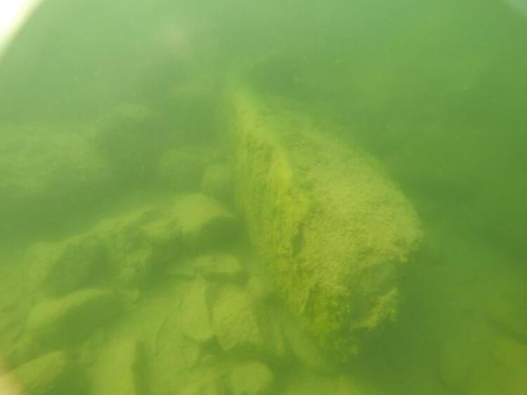 Ordu'da gölün dibinde kilise kalıntıları bulundu