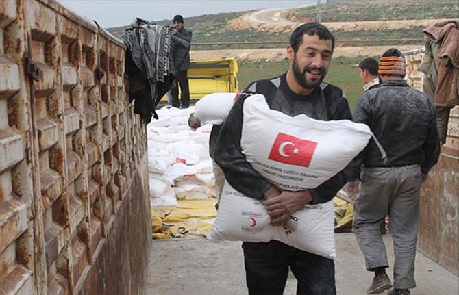 Türkiye'den Suriye'ye un ve bakliyat gönderecek