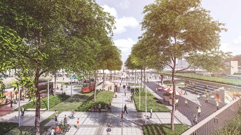 İstanbul'da Taksim Meydanı için oylama yapılan 3 proje