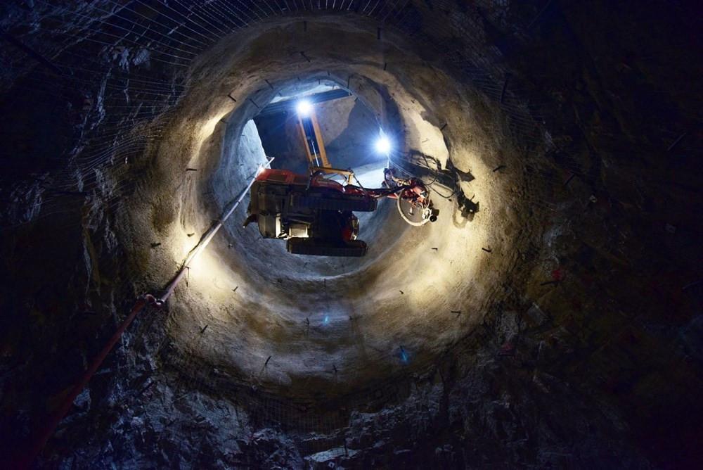 Türkiye'nin en yükseği! Dev projede son 34 metre kaldı