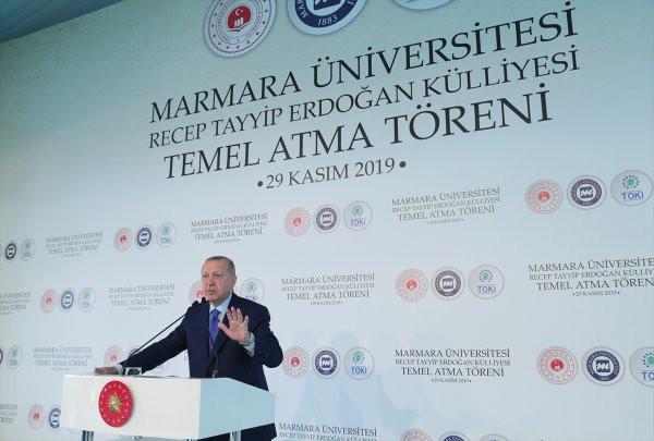 Marmara Üniversitelilerin ''Recep Tayyip Erdoğan Külliyesi'' itirazı