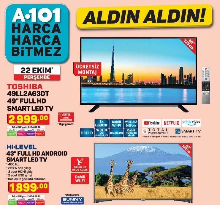 A101 aktüel ürünler 22 Ekim kataloğu