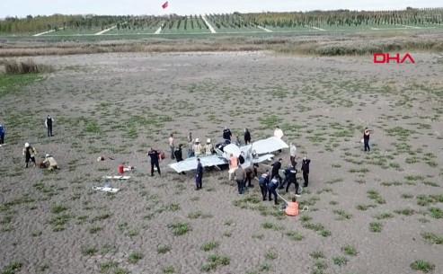 SONDAKİKA: İstanbul'da eğitim uçağı düştü! İşte ilk görüntüler...