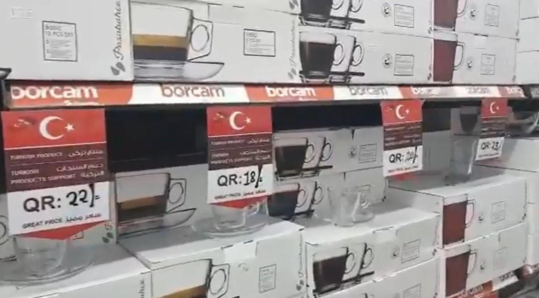 Katar'dan Türkiye'ye destek: Sadece Türk ürünü alın