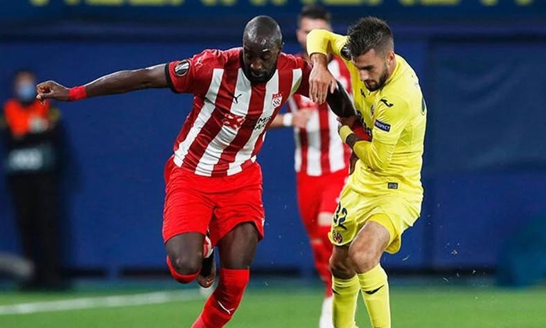 Sivasspor UEFA düellosunu kaybetti