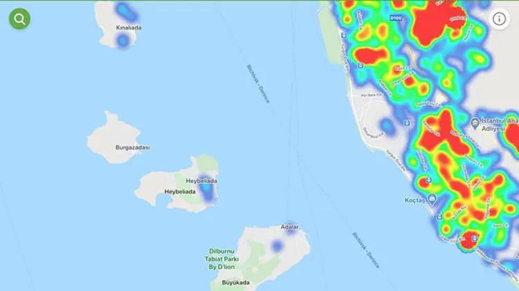 İstanbul ilçe ilçe kızardı! İşte İstanbul'un yeni koronavirüs haritası
