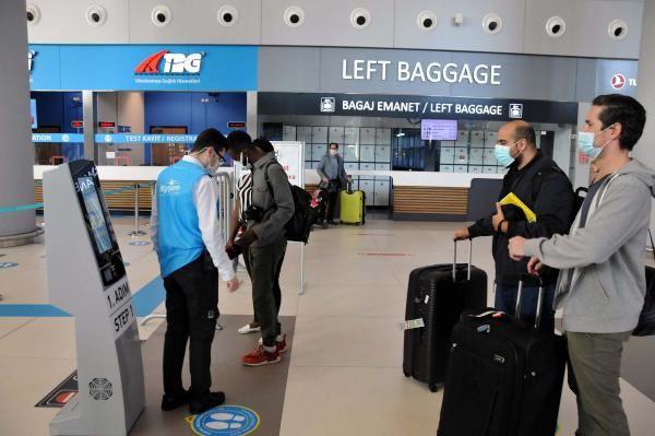 İstanbul Havalimanı'nda 141 bin yolcu koronavirüs testi yaptırdı