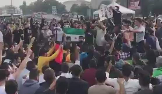 Skandal görüntüler! Yüzlerce Suriyeli İstanbul'u Halep'e çevirdi!