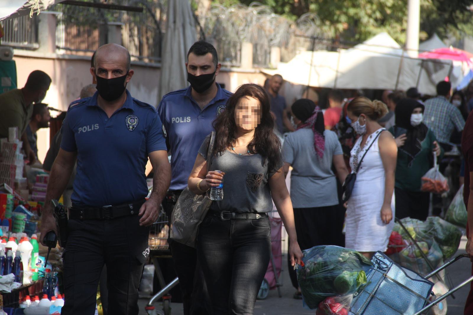 Kıskanç koca alarmı! Genç kadını polis kurtardı
