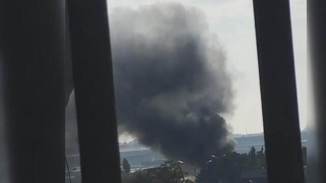 Bakırköy'de halı saha deposunda korkutan yangın