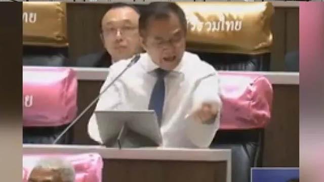 Dehşete düşüren anlar! Milletvekili konuşma sırasında kolunu kesti