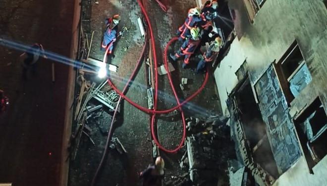 Ankara'da doğalgaz patlaması! Yaralılar var...