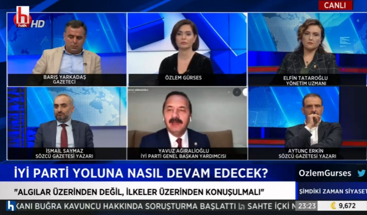Canlı yayında İYİ Parti'nin cumhurbaşkanı adayını açıkladı