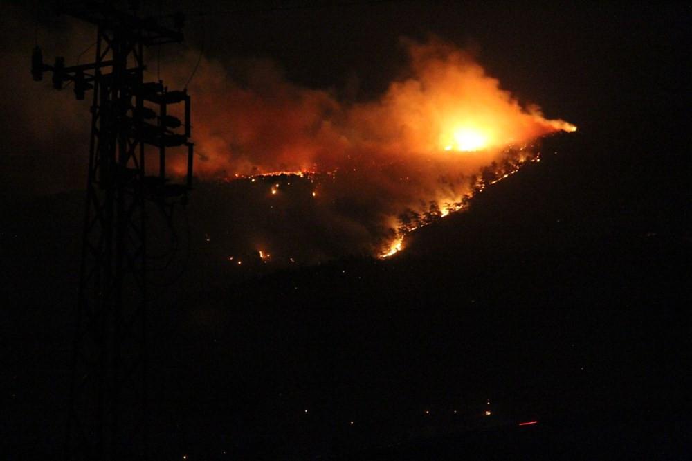 Hatay'daki yangın 22 saat sonra söndürüldü! Gözaltılar var