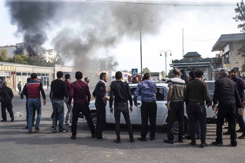 Ermenistan'ın hain saldırısı sonrası kahreden görüntü