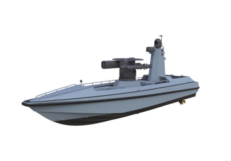 Türkiye'nin silahlı insansız deniz aracı görücüye çıktı