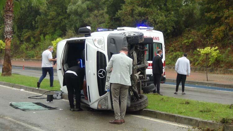 Kaza sonrası plaka sökme telaşı