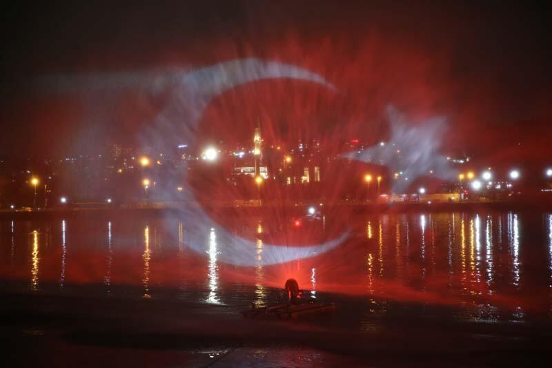 29 Ekim Cumhuriyet Bayramı yurdun dört bir yanında kutlandı