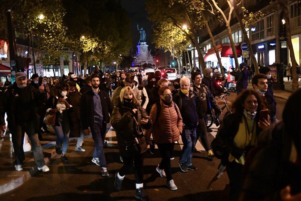 Fransa'da ''Macron istifa'' sesleri! Binlerce kişi sokağa indi