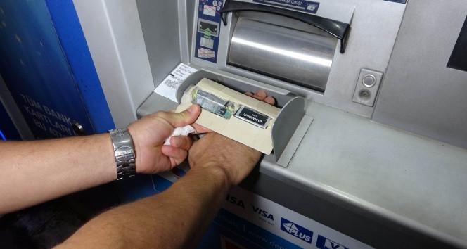 ATM'de ''yuh'' dedirten tuzak! Para çekerken kontrol edin!