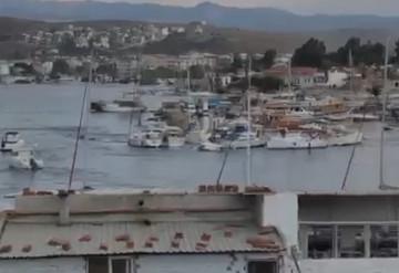 İzmir'deki deprem sonrası hayrete düşüren görüntüler