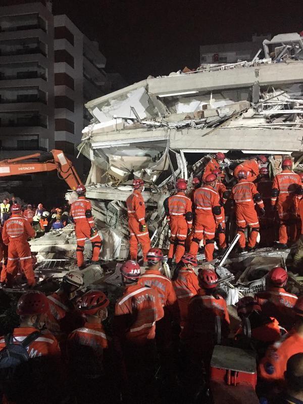 Jandarmadan İzmir'deki depremle ilgili açıklama