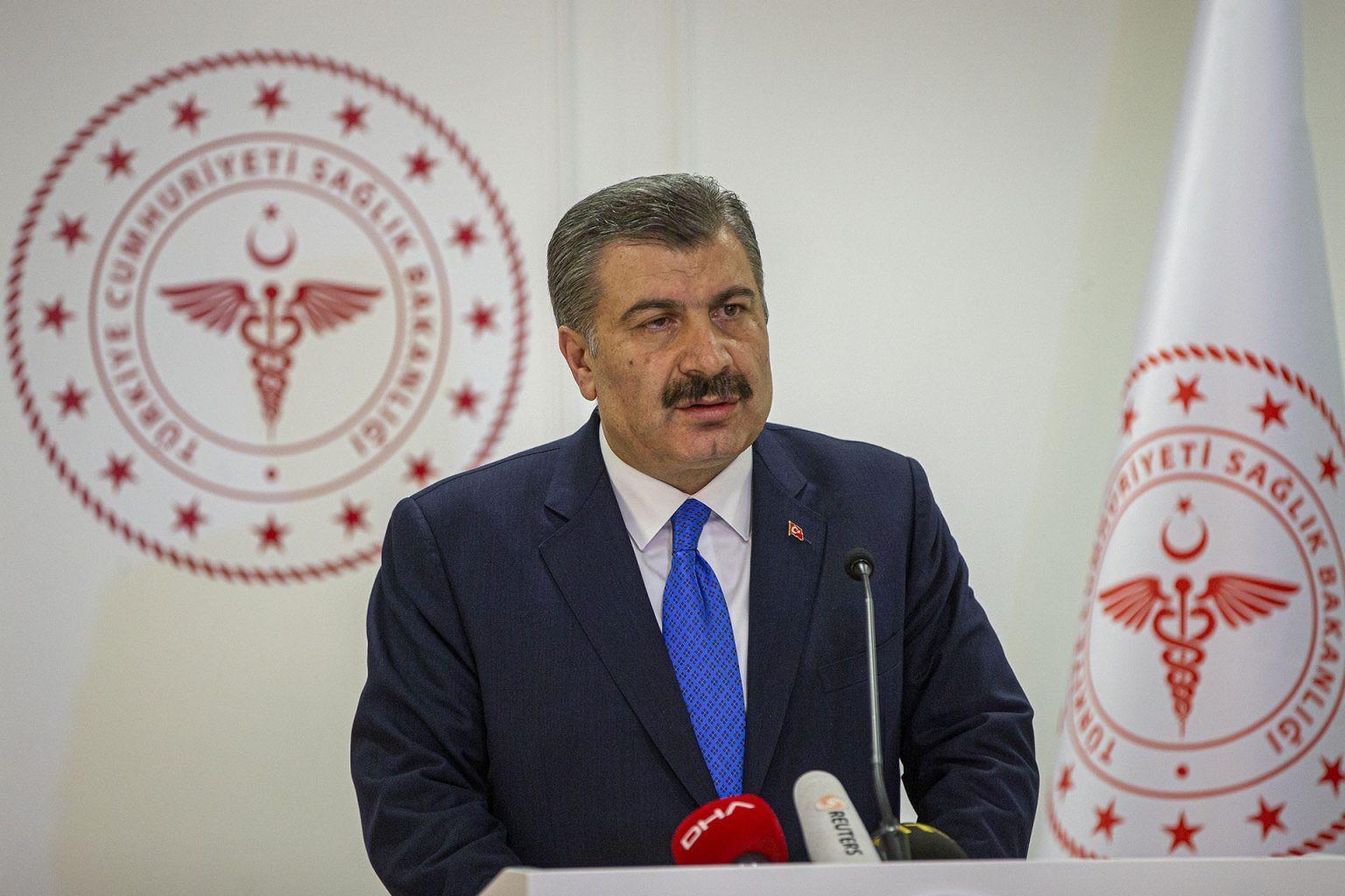 Bakan Koca açıkladı; işte Türkiye'deki test/pozitif vaka oranı!