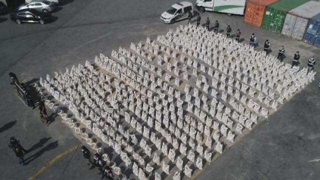 İstanbul'da dev operasyon! 258 kilogram kokain ele geçirildi