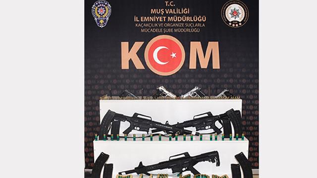 Muş'ta silah ticareti operasyonu: 8 gözaltı